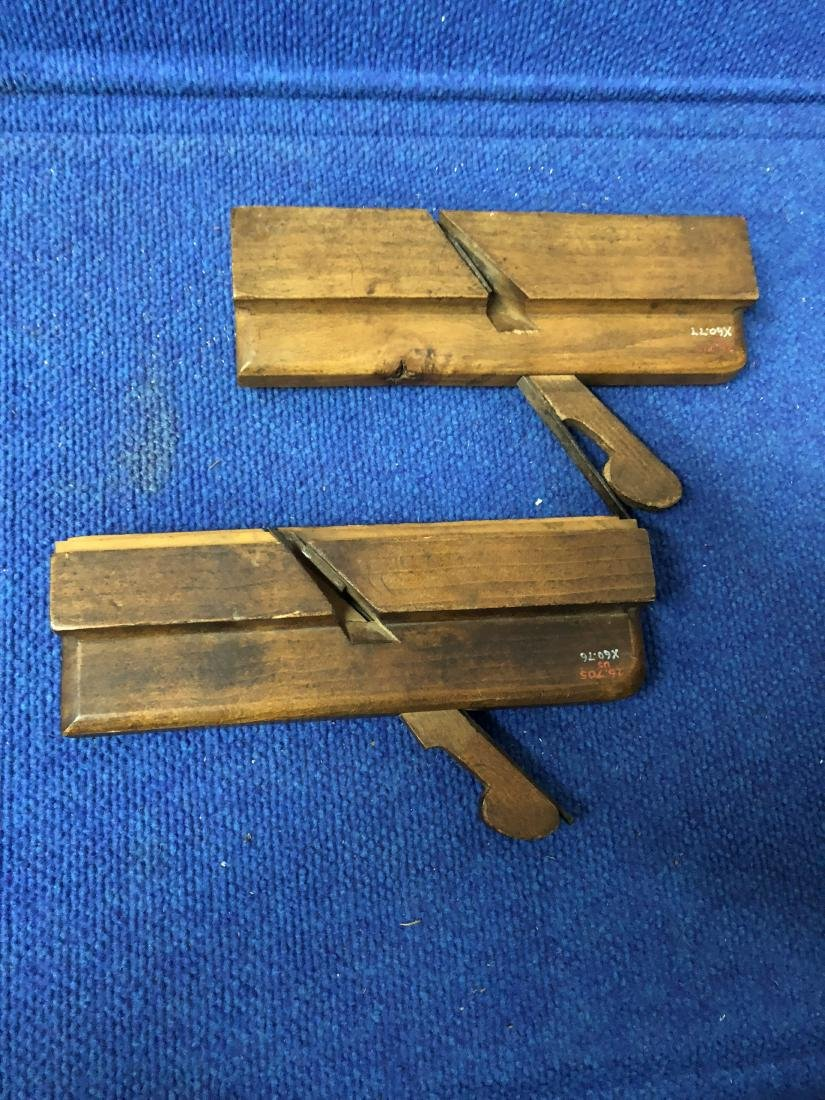 Two 19th century molding Planes