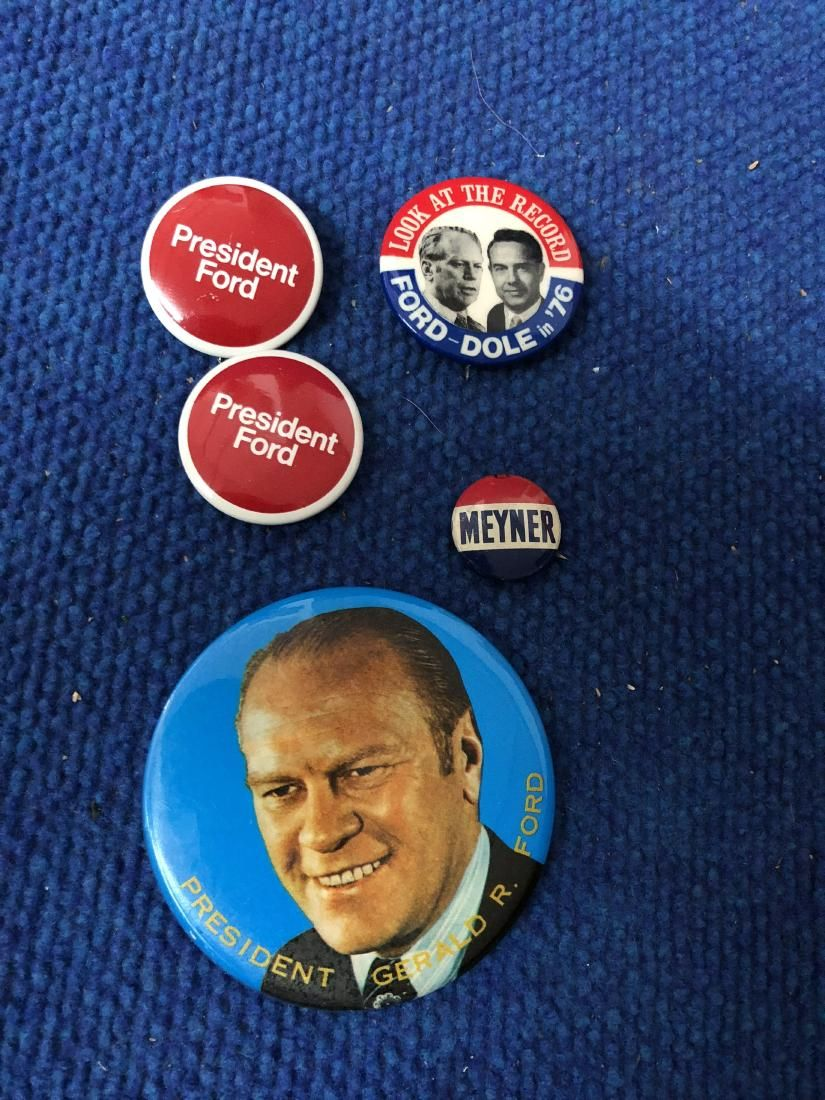 Lot of Gerald R Ford Pins