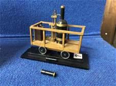 Model of The Tomb Thumb Steam Locomotive