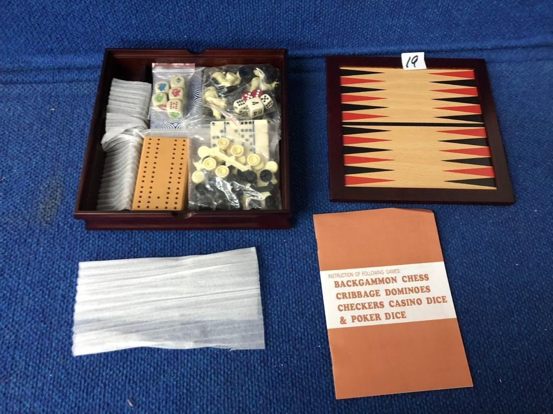 Vintage Multi Game Travel Set