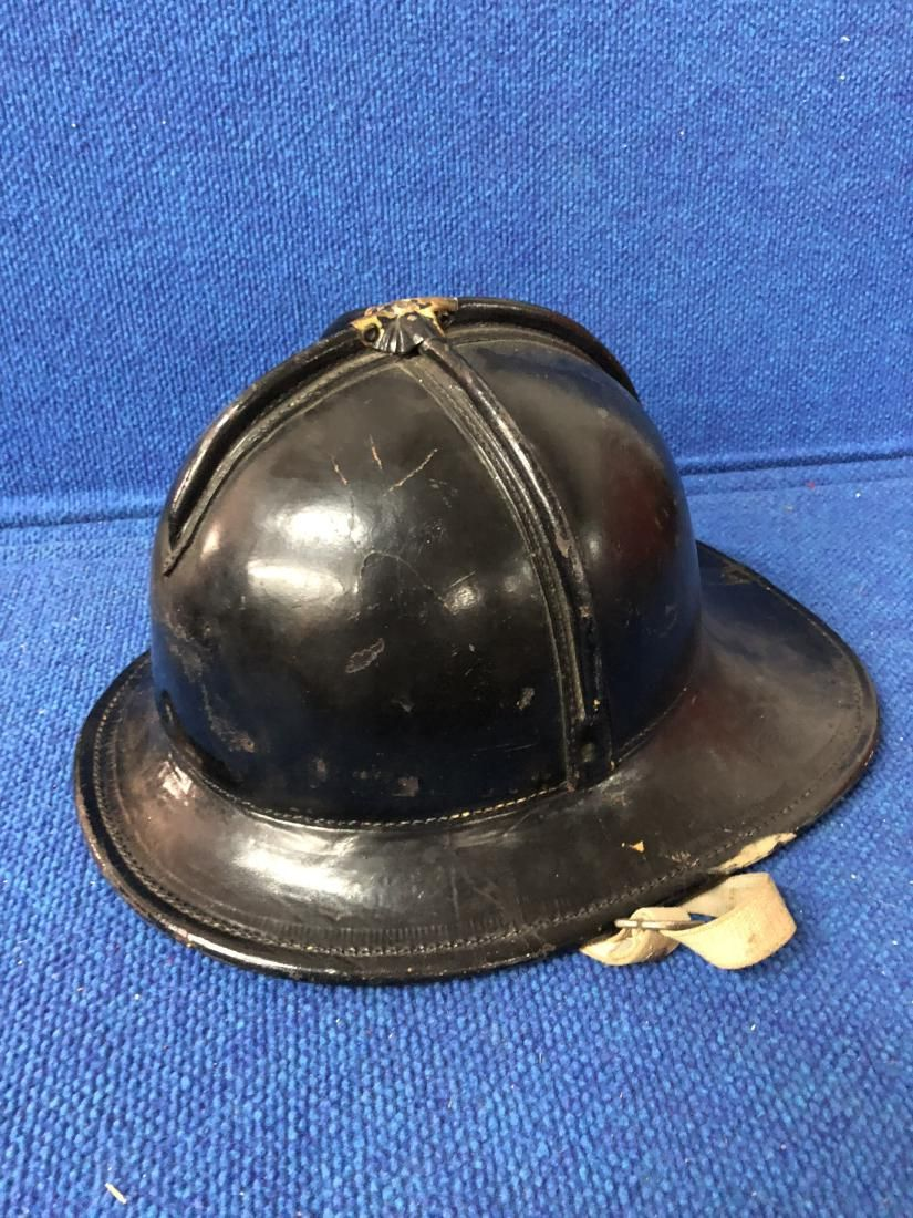 Original Leather Cairns Fire Helmet