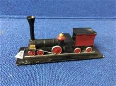 Model of Steam Locomotive