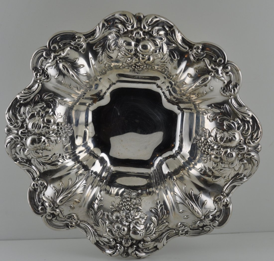 Sterling Reed & Barton Francis I Sterling Ornate Bowl