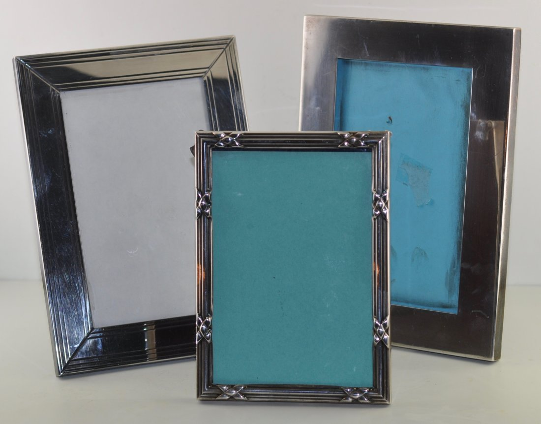Group of Tiffany & Co Sterling Frames