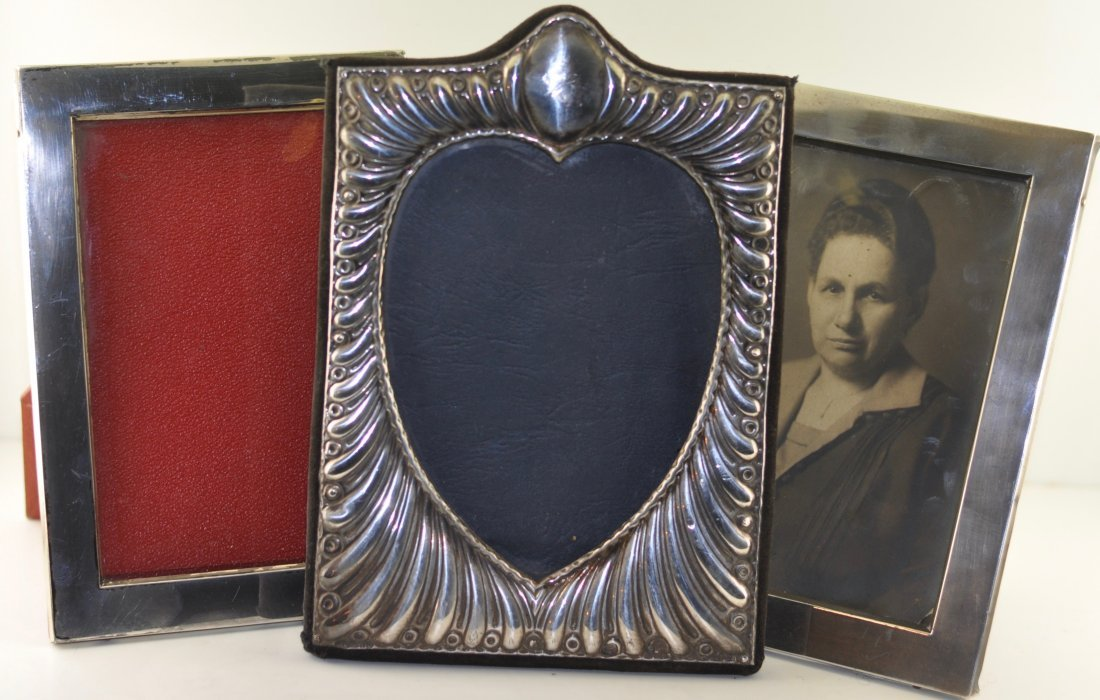 Lot of Sterling Picture Frames
