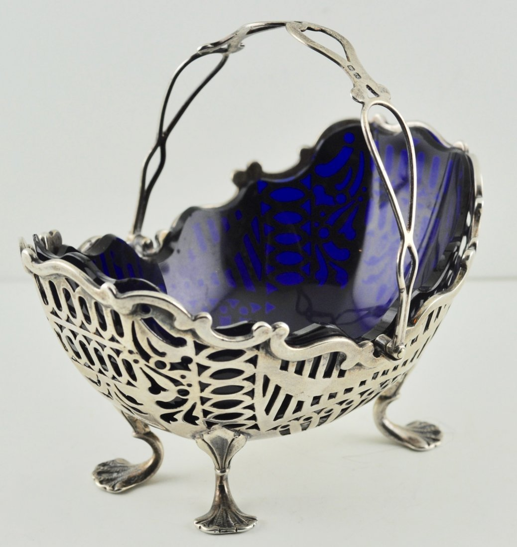 Sterling  Chester George Nathan & Ridley Hayes Basket