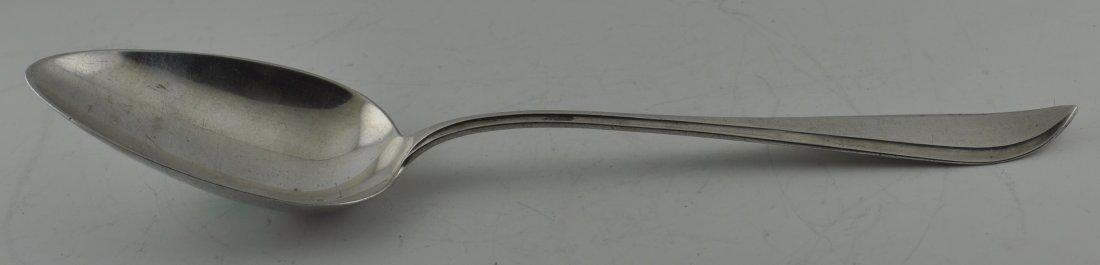 Dutch 833 Silver Large spoon Markers mark JK Circa 1930