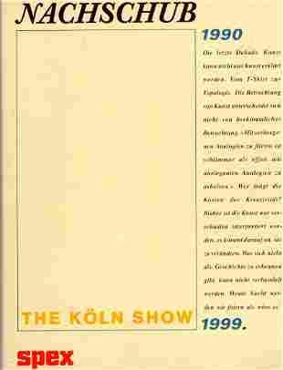 Nachschub Supply The Kln Show 2442651990 Buch