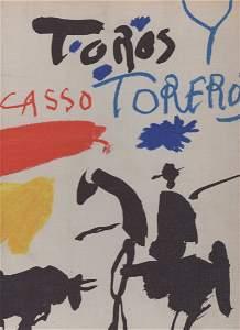 RARE Toros y Toreros.  PICASSO 1961 first edition