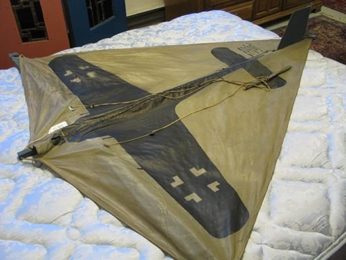 0303: A WORLD WAR II KITE-TARGET, depicting a German  b