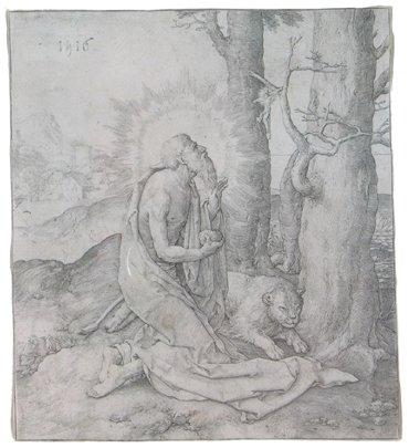 701: LUCAS VAN LEYDEN (Dutch, 1494-1533)  A copper engr