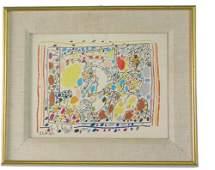 715: PABLO PICASSO (Spanish, 1881-1973) Color lithogra