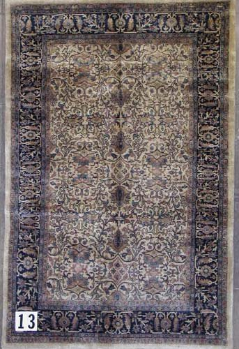 """1013: PAKISTANI-PERSIAN AREA RUG  5'2"""" x 7'11""""  Contemp"""