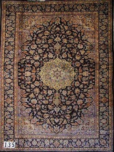 """1135: PERSIAN NEJAFABAD CARPET  8'2"""" x 10'10""""  Semi-ant"""