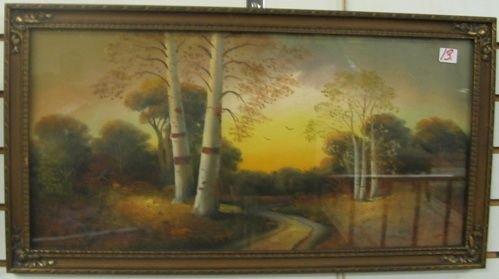 13: FLOYD WILSON (Portland, Oregon 1887-1974)  Pastel o