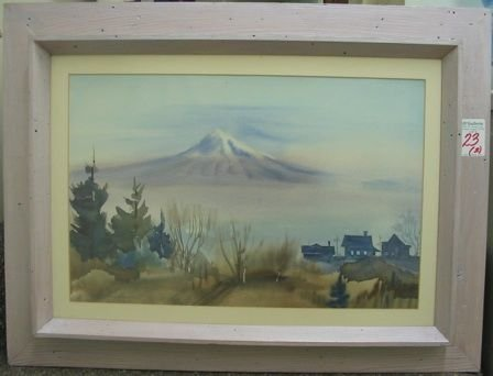 23: JOHN WADDINGHAM (Portland, Oregon 1915-2003)  Two w