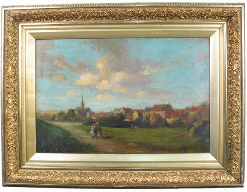 622: JAMES CRICHTON (English, 19th/20th century)  Oil o