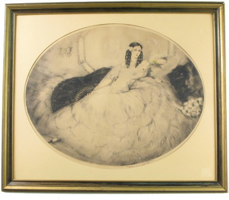 69: LOUIS ICART (American, 1888-1950)  An original etch