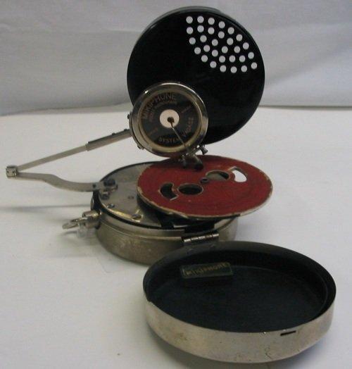 "301: GERMAN ""MIKIPHONE"" POCKET PHONOGRAPH, c. 1925.  Th"