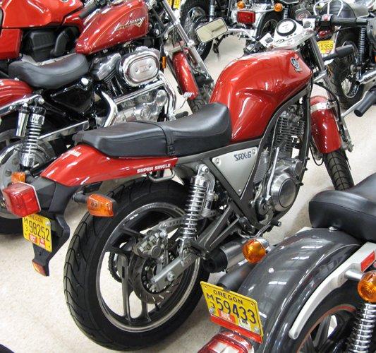 190: 1986 YAMAHA MOTORCYCLE, SRX-6 Super Single, 608  c