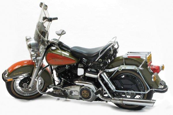 706: CLASSIC 1981 HARLEY-DAVIDSON MOTORCYCLE, FLH  Elec
