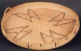 186 NATIVE AMERICAN HAND WOVEN TRAY Thompson River r