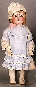 1011: GERMAN BISQUE HEAD CHARACTER DOLL, Kammer & Reinh