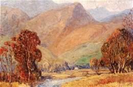 806: C. HARRY ALVIS (1870-1938, Dayton, Ohio) A river v