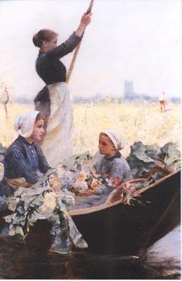 830: HECTOR CAFFIERI (British, 1847-1932) Oil on canvas