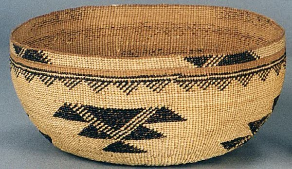 1: NATIVE AMERICAN HAND WOVEN HAT, Northern California,