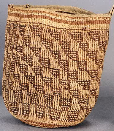 "3: NATIVE AMERICAN HAND WOVEN ""SALLY"" BAG, Plateau, han"