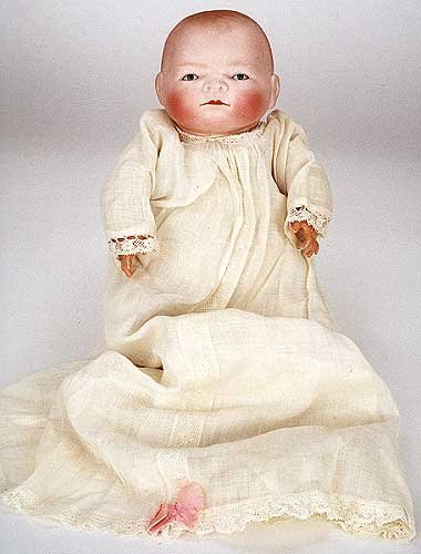 3: A COLLECTIBLE BYE-LO BABY DOLL, circa 1920, by Grace