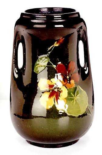 186 A Loy Nel Art Pottery Vase By Mccoy Pottery Circa