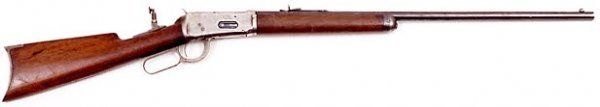 6: WINCHESTER LEVER ACTION RIFLE, caliber .32-40, Model