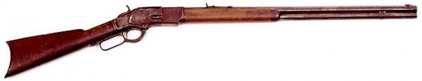 17: WINCHESTER LEVER ACTION RIFLE, caliber .44 W.C.F.,