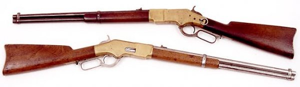 146: PAIR OF CONSECUTIVELY NUMBERED WINCHESTER LEVER AC