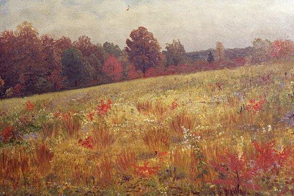 840: ALBERT BIERSTADT (New York City, 1830-1902) Oil on