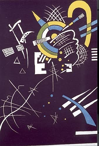 828: WASSILY KANDINSKY (Russian, 1866-1944) Color Woodc