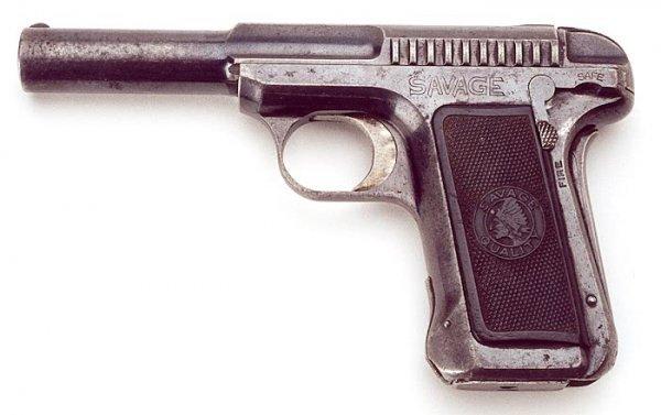 4: SAVAGE SEMIAUTOMATIC PISTOL, caliber .380, Model 191