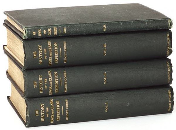 """135: A COLLECTIBLE SET OF BOOKS; """"History of the Expedi"""