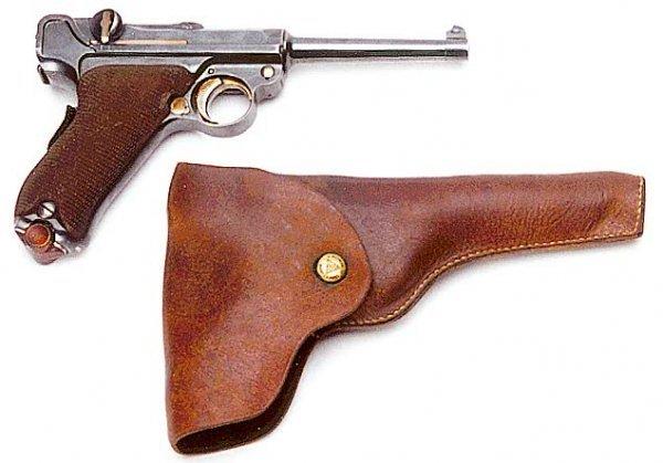 1: LUGER PISTOL, caliber 7.65 mm., Model 1900, semi-aut