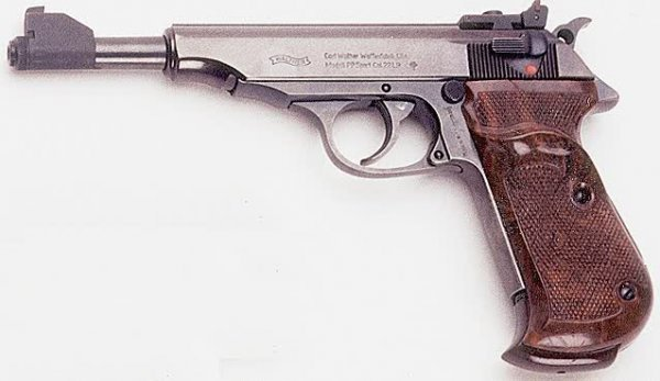 """6: WALTHER SEMIAUTOMATIC PISTOL, caliber .22, """"PP Sport"""