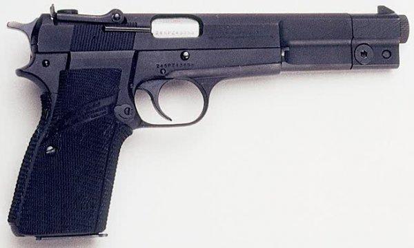 14: BROWNING SEMIAUTOMATIC PISTOL, caliber 9 mm., Belgi