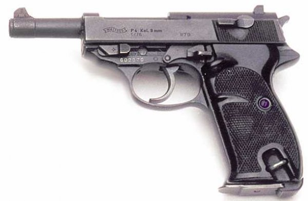 3: WALTHER SEMIAUTOMATIC PISTOL, caliber 9 mm. parabell