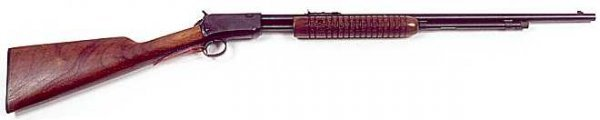 6: WINCHESTER PUMP ACTION RIFLE, caliber .22, Model 62A