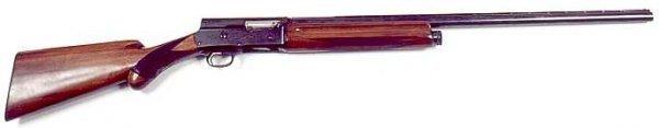 """19: BROWNING SLIDE ACTION SHOTGUN, 16 gauge, """"Sweet Six"""