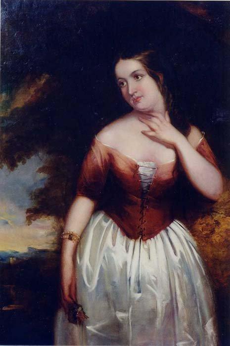 840: ATTRIBUTED TO CHARLES BAXTER (British, 1809-1879)
