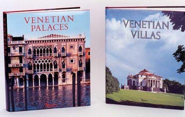 "4: TWO OVERSIZED BOOKS ON VENICE: ""Venetian Villas, The"
