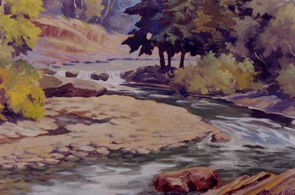22: ARTHUR A. SELANDER (Marshfield, Oregon 1885-1978) O