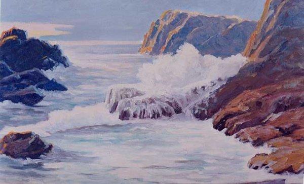 22: ARTHUR SELANDER (Marshfield, Oregon 1885-1978) Oil